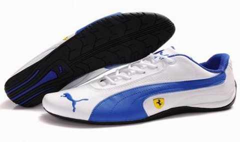 chaussure puma homme blanche